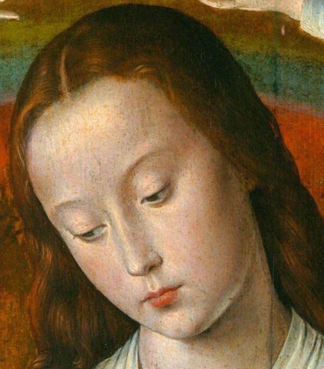 Jean Hey, le Maître de Moulins, XVIème siècle – Jeune femme pensive