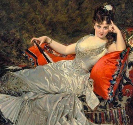 Carolus-Duran - Mademoiselle de Lancey, une courtisane de haut vol