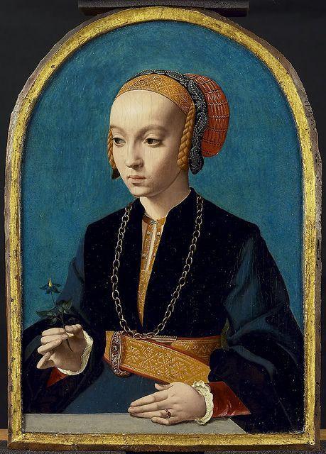 Portrait de jeune femme, 15ème siècle