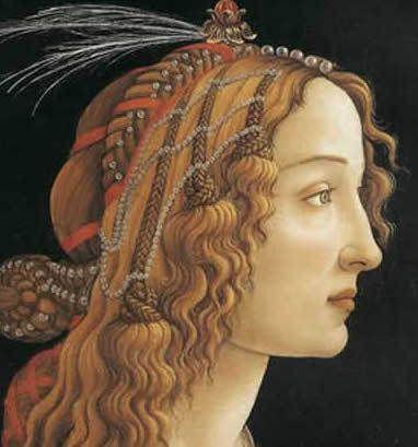 Botticeli - Femme de profil