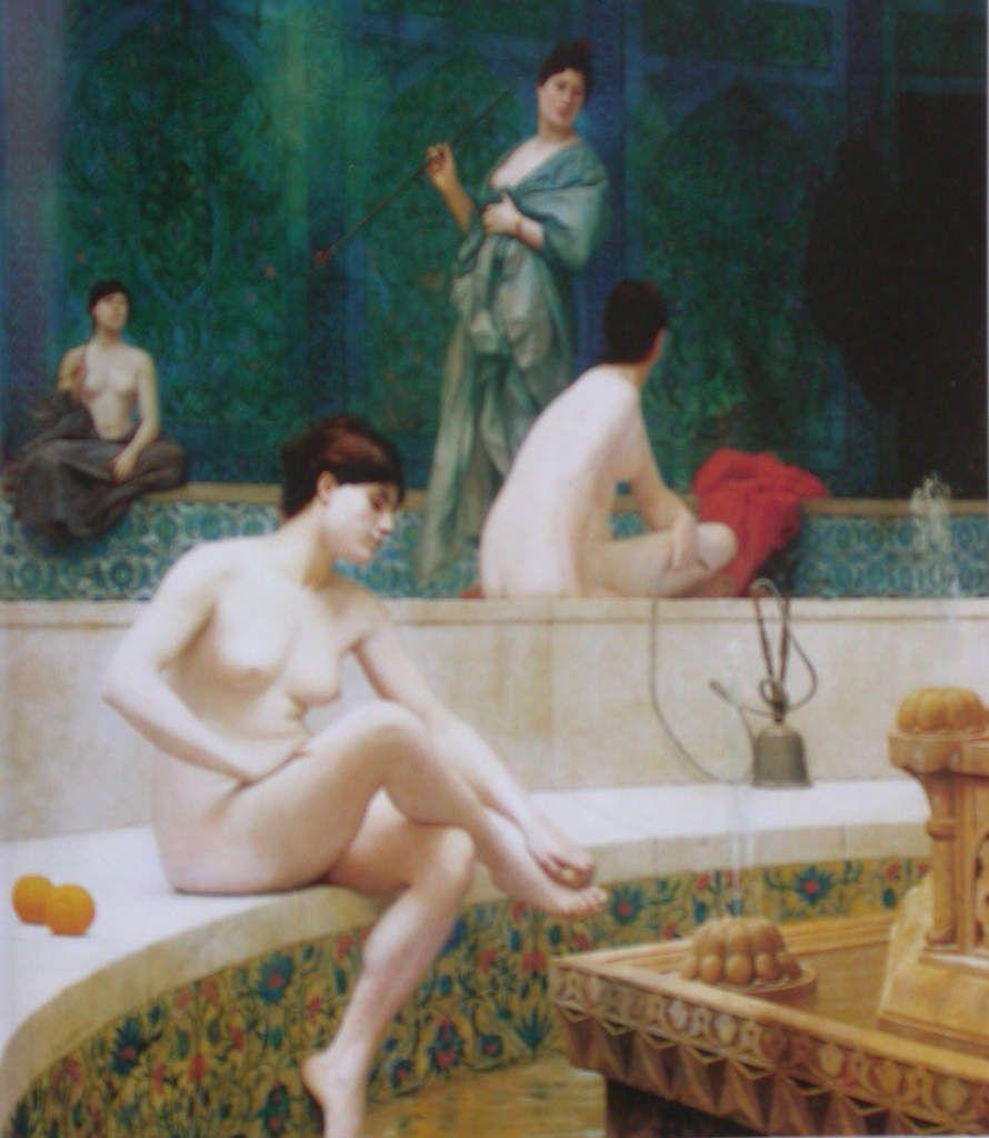 Jean-Léon Gérôme - Les baigneuses, 1889