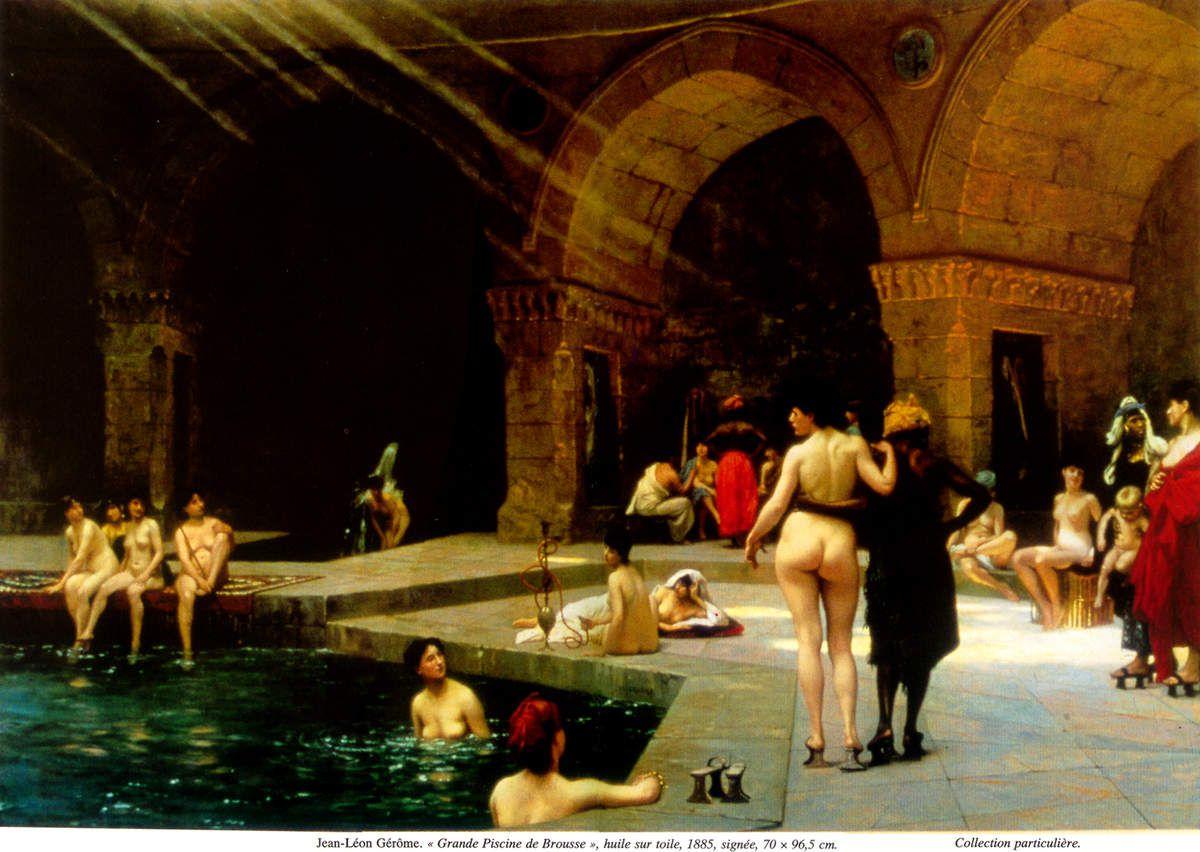 Jean-Léon Gérôme - La grande piscine de Brousse, 1885