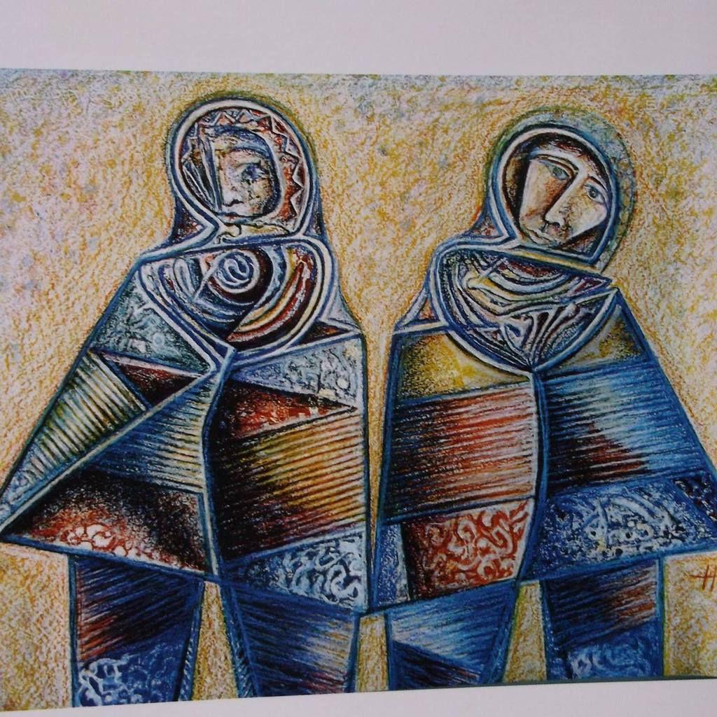 Dona Antica - huile sur toile marouflée. 60x80cm 2010