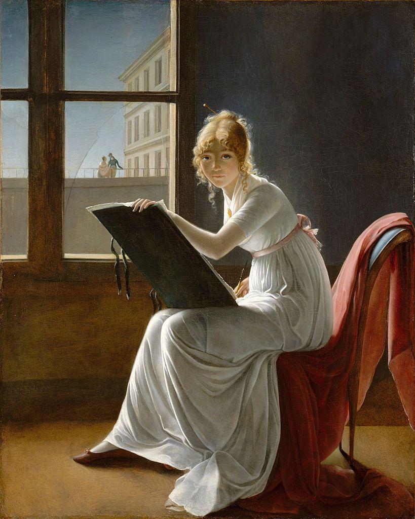 Marie Denise Villers - Autoportrait 1801