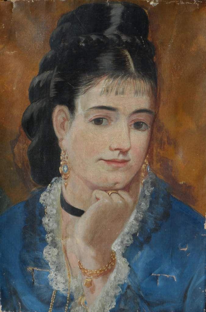 Eva Gonzalès - Autoportrait 1879