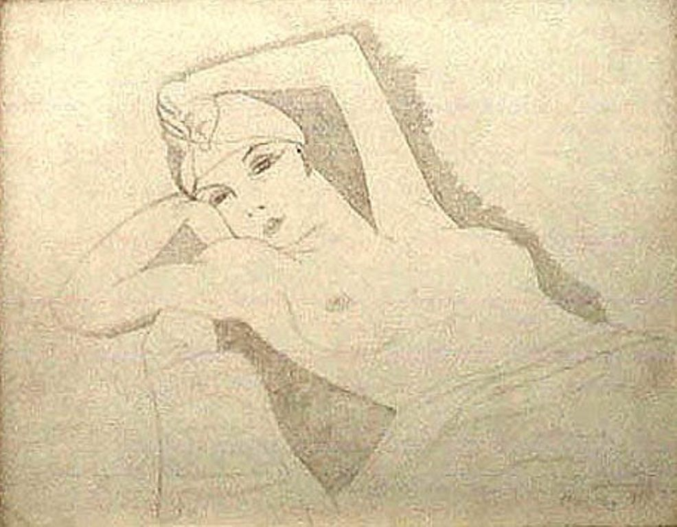 Man Ray -  Kiki de Montparnasse (Illustration) 1924