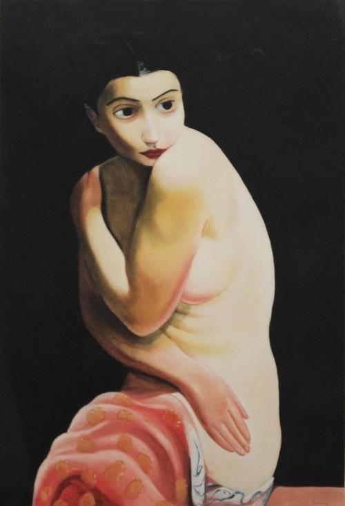 Moïse Kisling - Nu assis ou Alice Prin (Kiki de Montparnasse) 1925