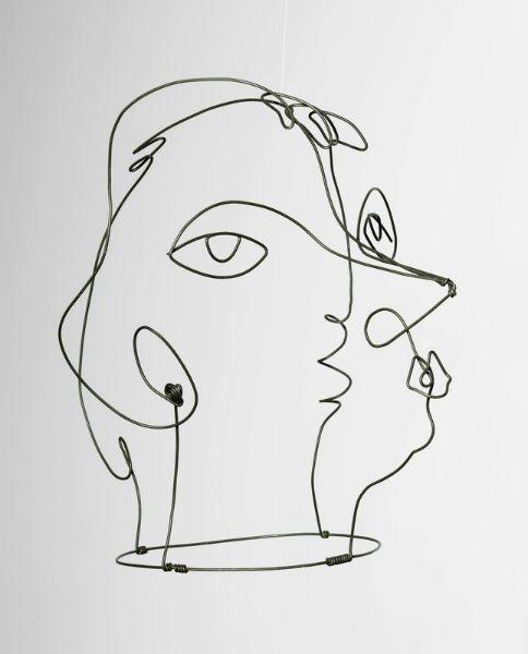 Alexander Calder - Kiki de Montparnasse 1930