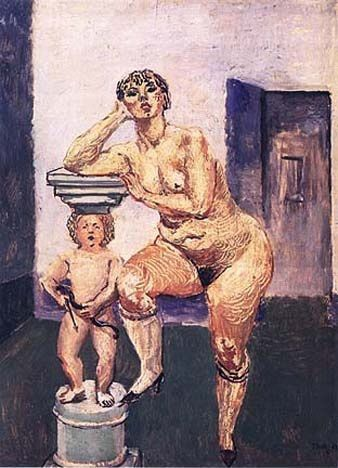 Per Krohg - Kiki nue 1928
