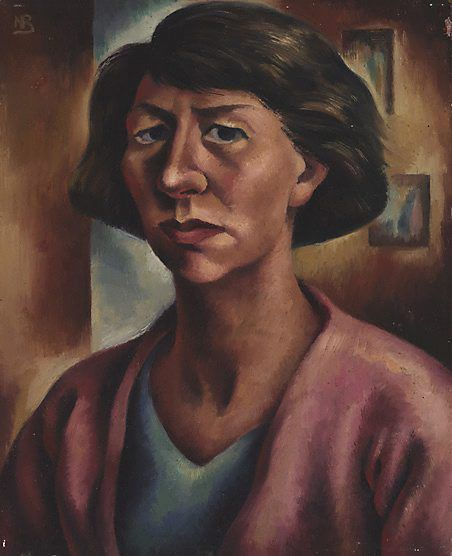 Nancy Borlase - Autoportrait 1943