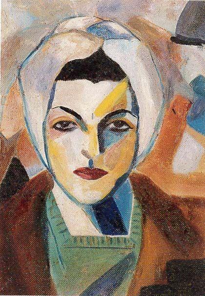 Saloua Raouda Choukair - Autoportrait 1943