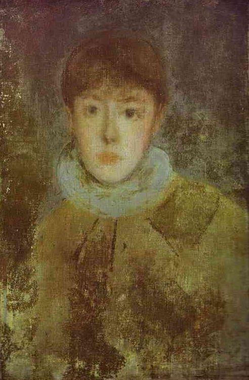 James Whistler - Maud Franklin (modèle et maîtresse du peintre de 1870 à 1888),  1875
