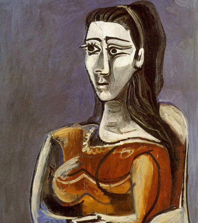 Picasso - Portrait de Marcelle Humbert (Eva Gouel), compagne de Picasso de 1911 à 1915), 1911/1912