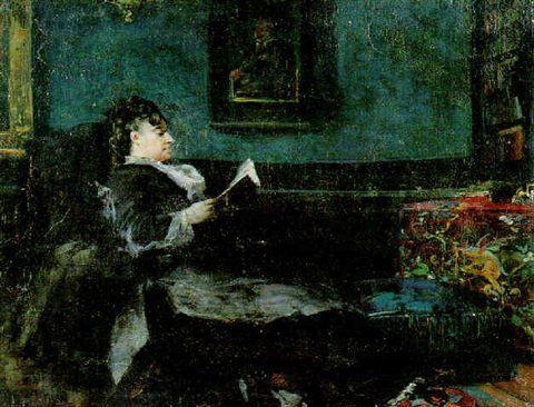 Eugène Fromentin - Portrait de Marie Fromentin, femme du peintre, s.d.