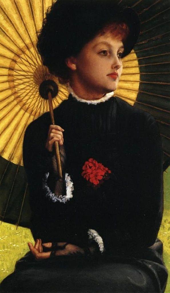 James Tissot - Eté (Kathleen Newton, compagne du peintre), 1877
