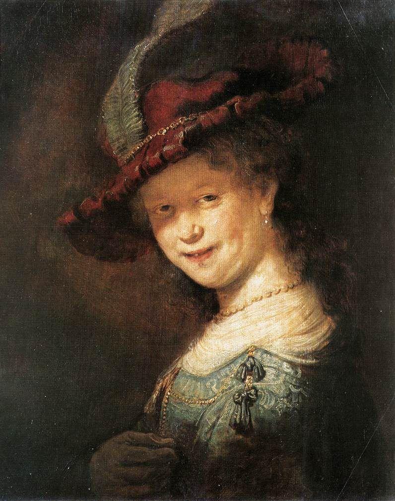 Rembrandt - Portrait de la jeune Saskia, 1633