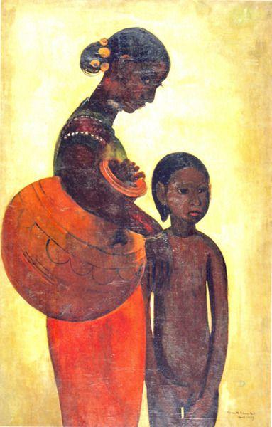 Mère et enfant, 1937