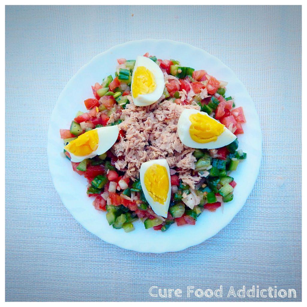 Salade tunisienne ( slata tounsya)