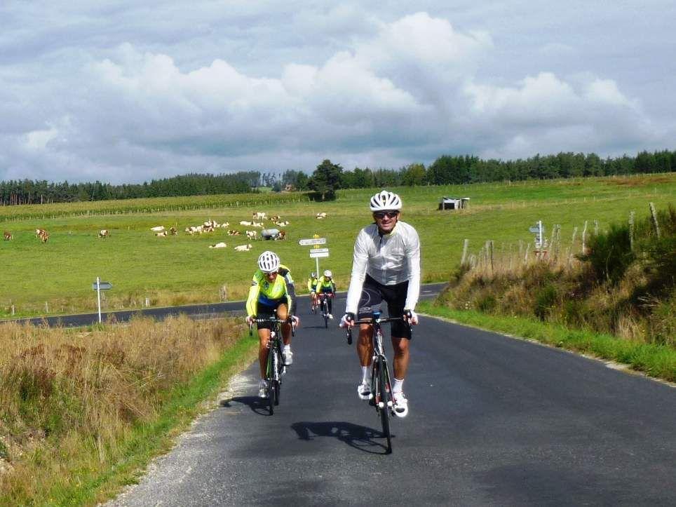 Il ne faut pas oublier Sébastien, un cyclo très sympa qui vient de St-Etienne.