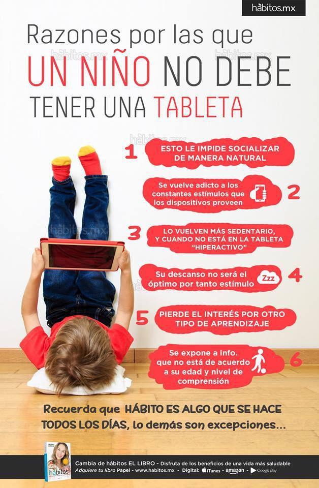 Afecta el uso de tablet y computador en niños y niñas. Controla su uso