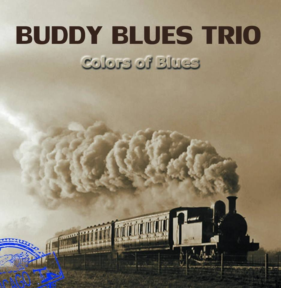 "Buddy Blues Trio: CD ""COLORS OF BLUES"""