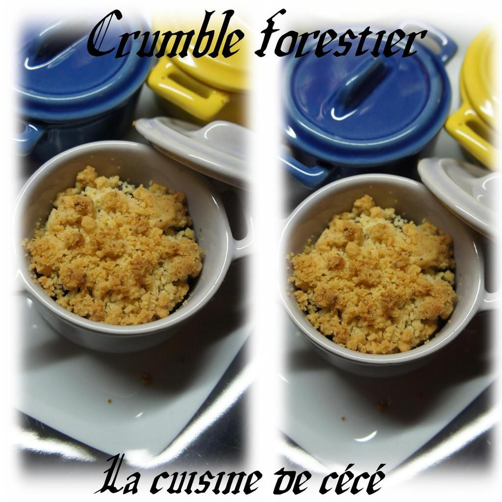 Crumble forestier