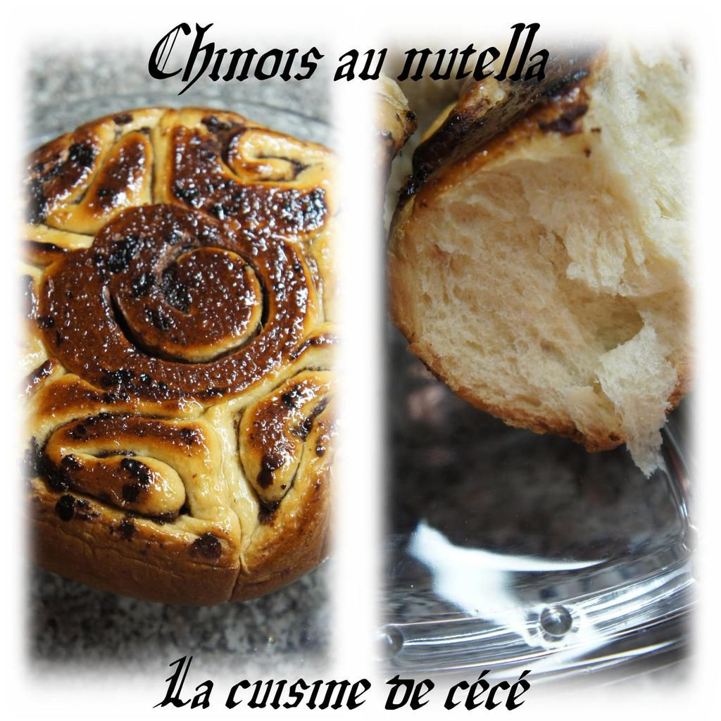 Chinois au nutella(multicuiseur philips)