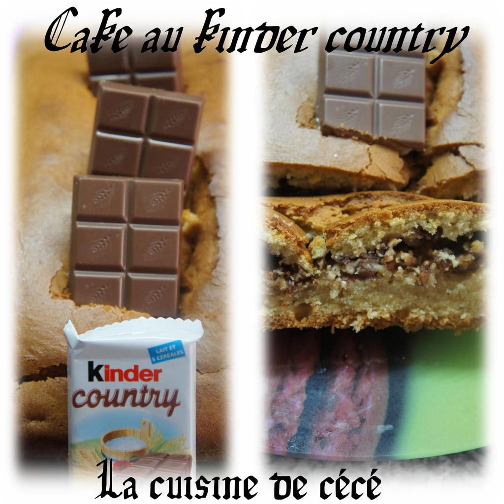 Cake au kinder country