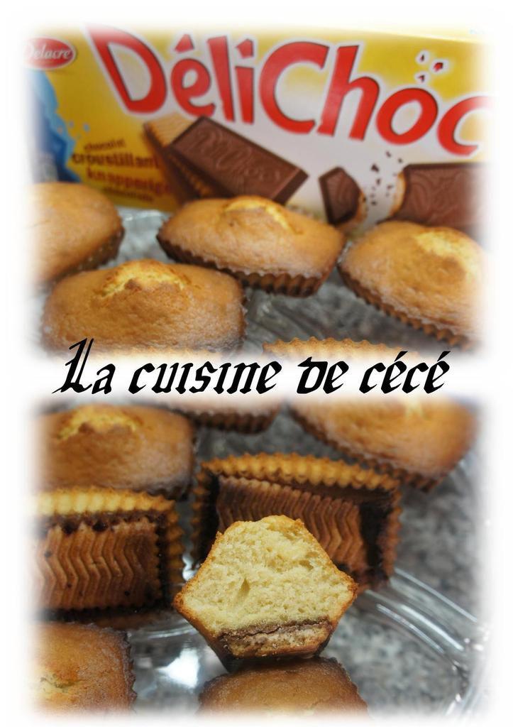 Mini cake au délichoc