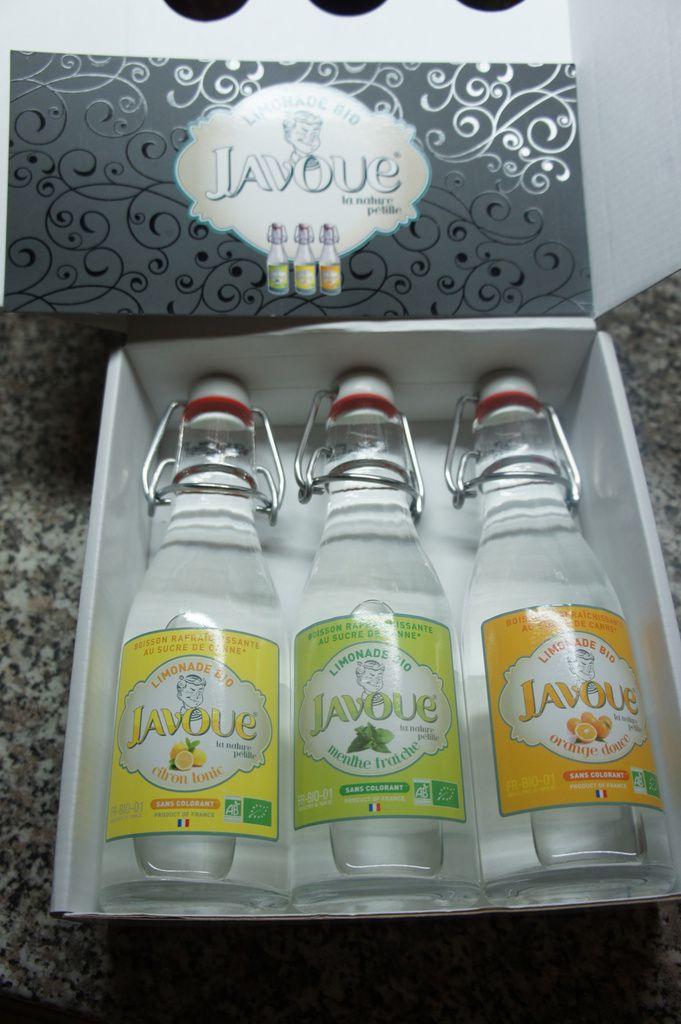 Limonade bio Javoue