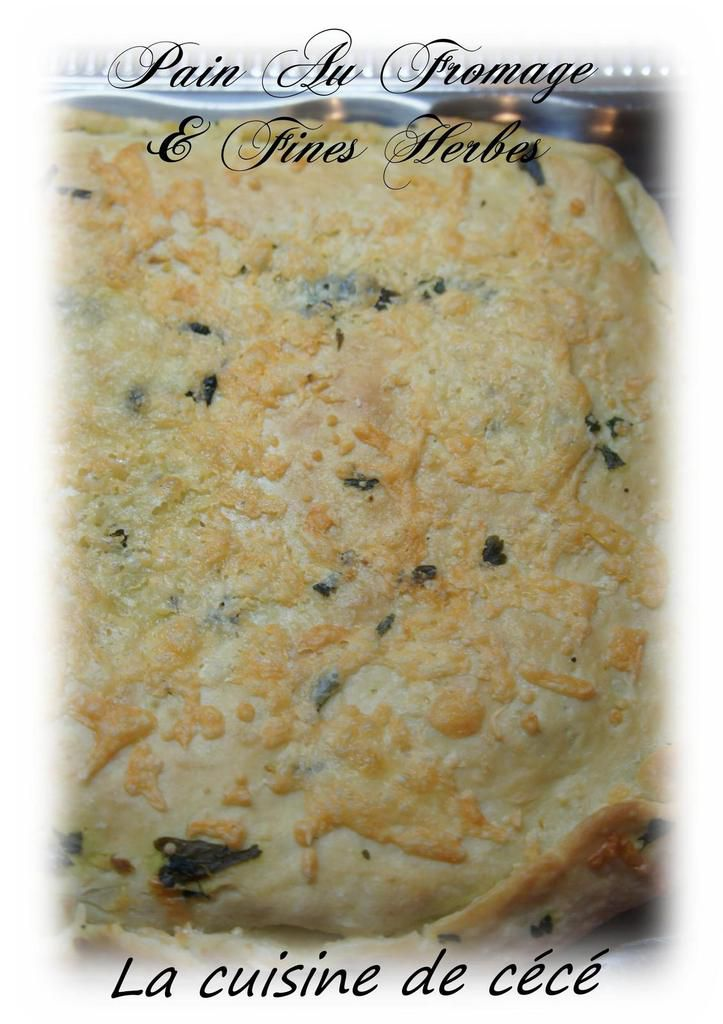 Pain Au Fromage &amp&#x3B; Fines Herbes