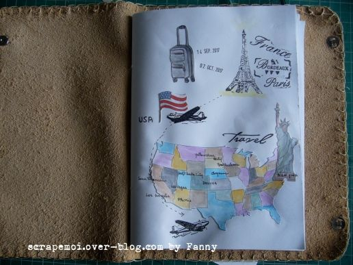 my travel journal for the USA
