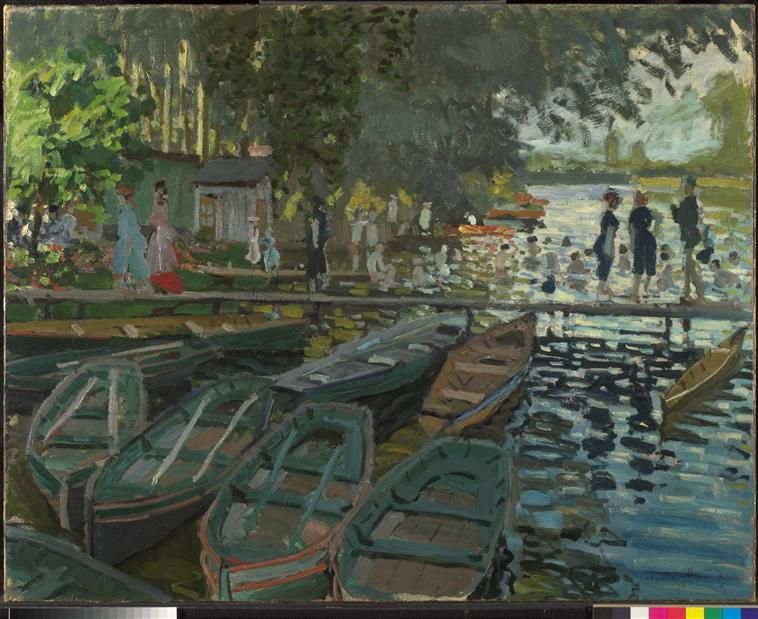 Claude monet peintre de l insaisissable art histoire - Idees decors du milieu du siecle salon ...