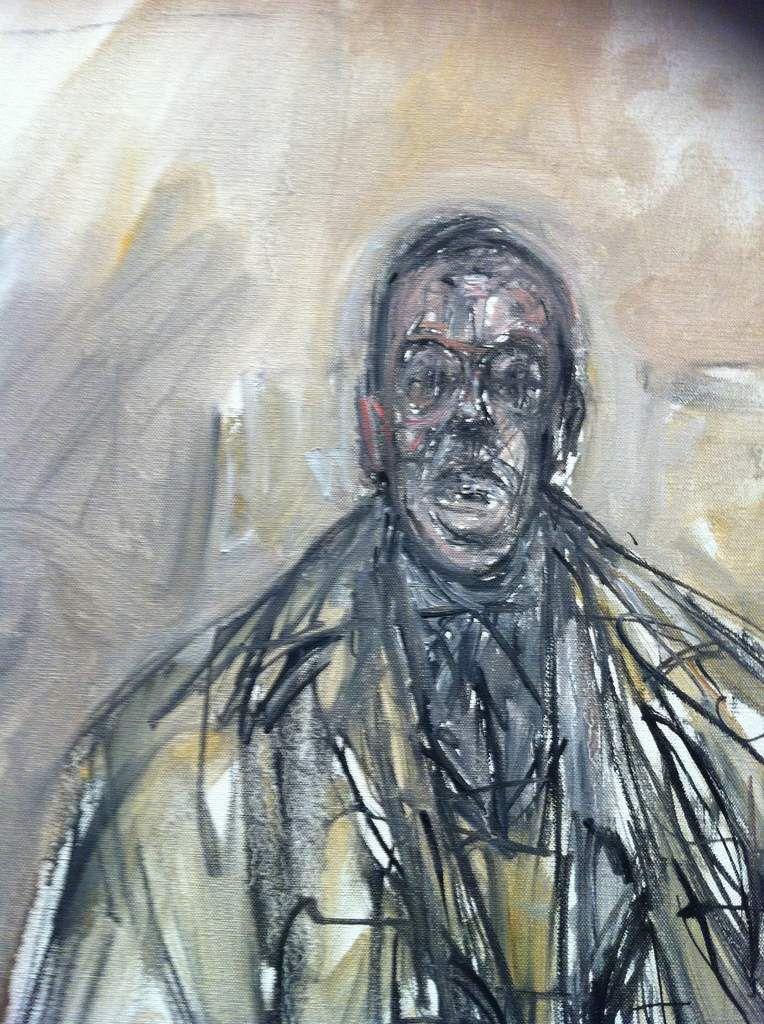 le portrait de Tériade par Giacometti 1960