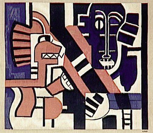 tapisseries d'après Fernand Léger, commandes de Marie Cuttoli.