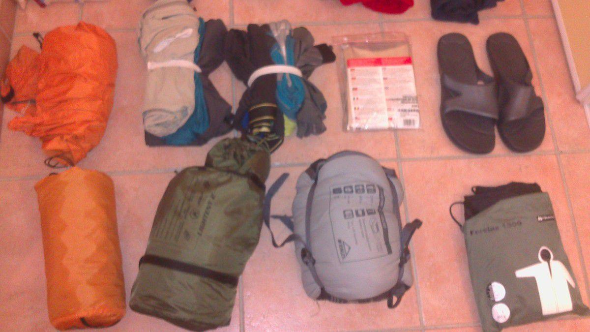 GR 11 Cap à l'Ouest: Les préparatifs............
