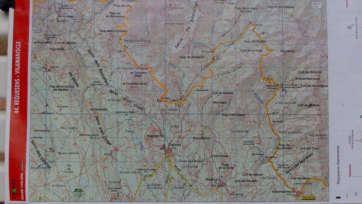Jour 5: Jeudi 28 Août Torrente - Col de l'Auleda