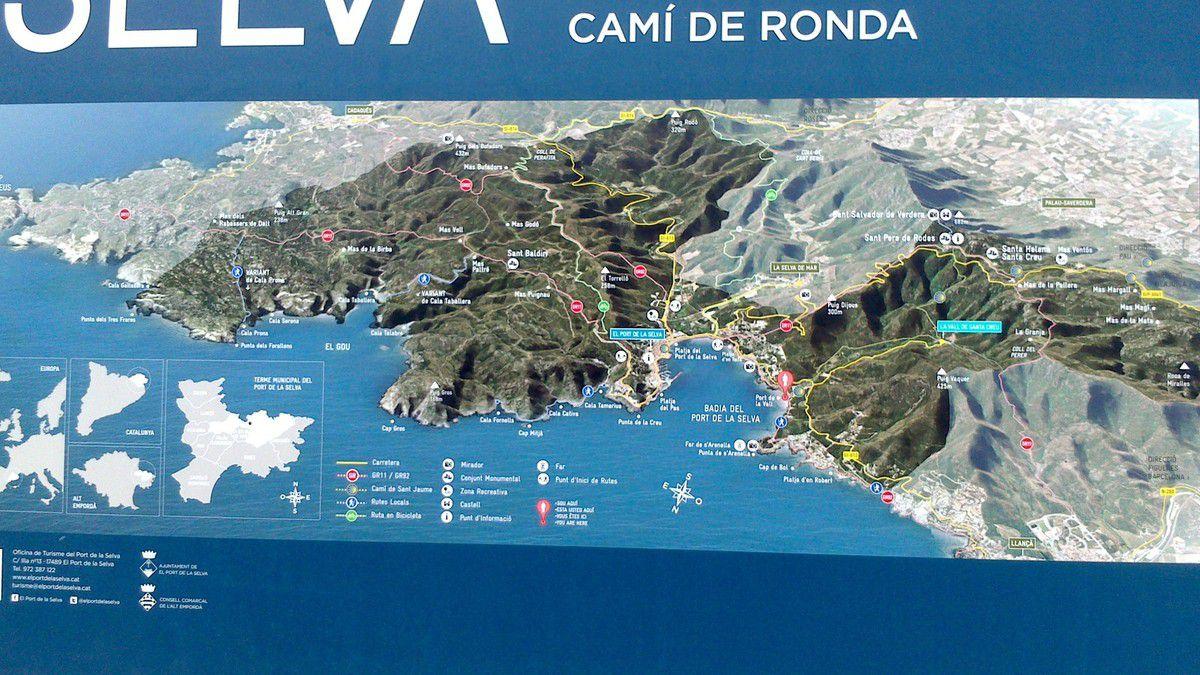 Jour 2 Lundi 25 Août: Bivouac 1 ( B1)-Port de la Selva- Llança