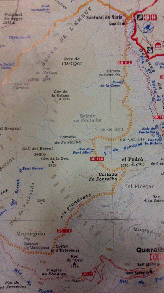 Jour 14: Samedi 6 Septembre Nuria - Planoles
