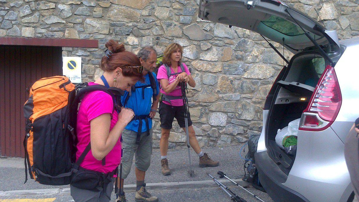 Jour 21: Samedi 13 Septembre La Cortinada - refuge Coma Pedrosa