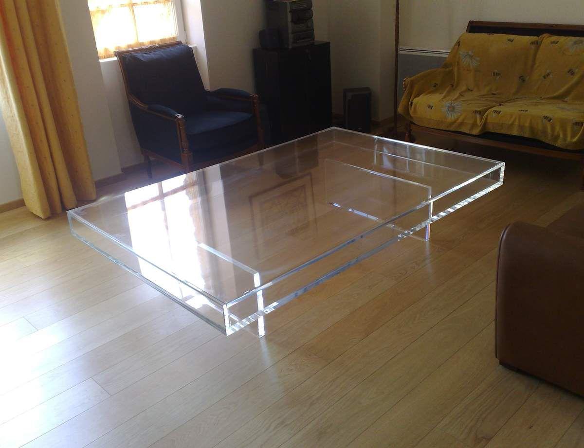 En Plexi Basse Du Table La Plexiglas Maison Lq3ARjc54S