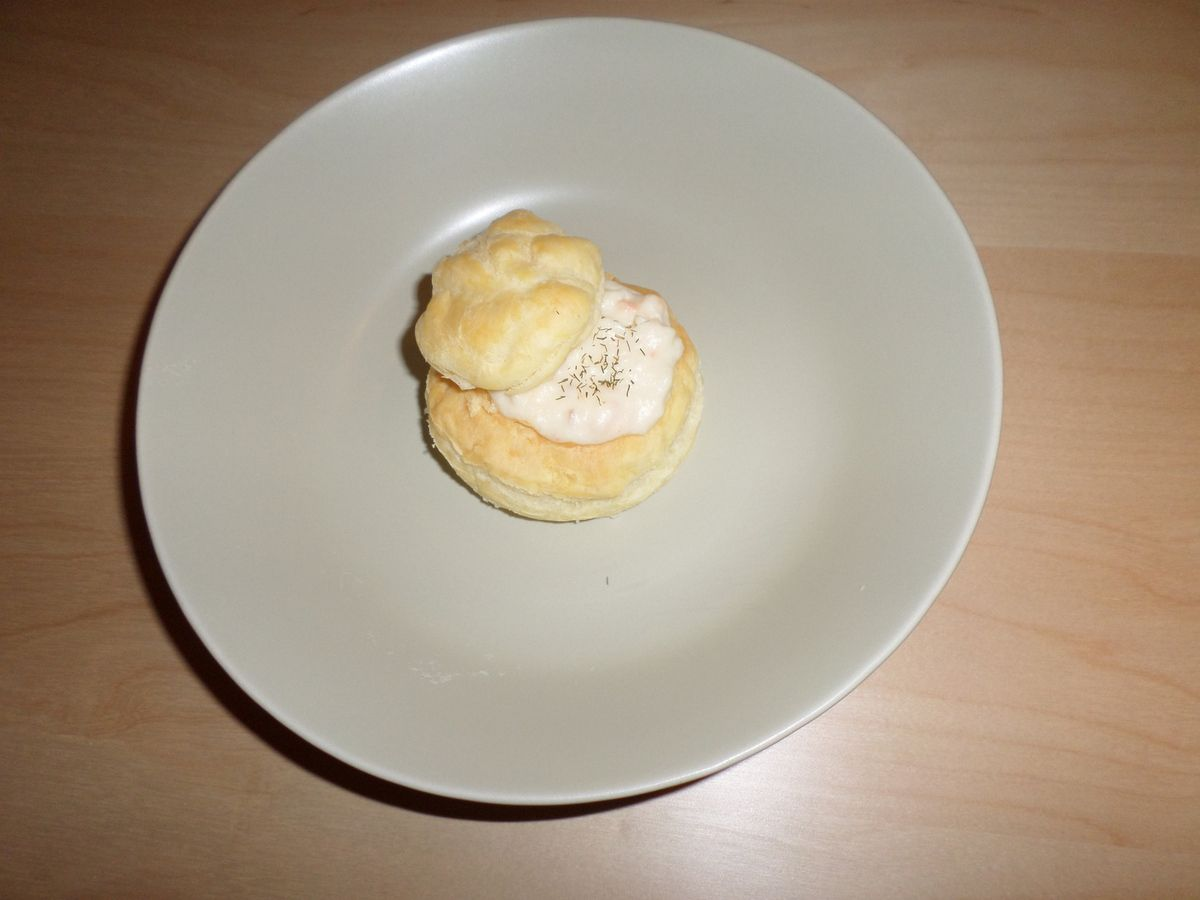 Vol au vent made in maison!!