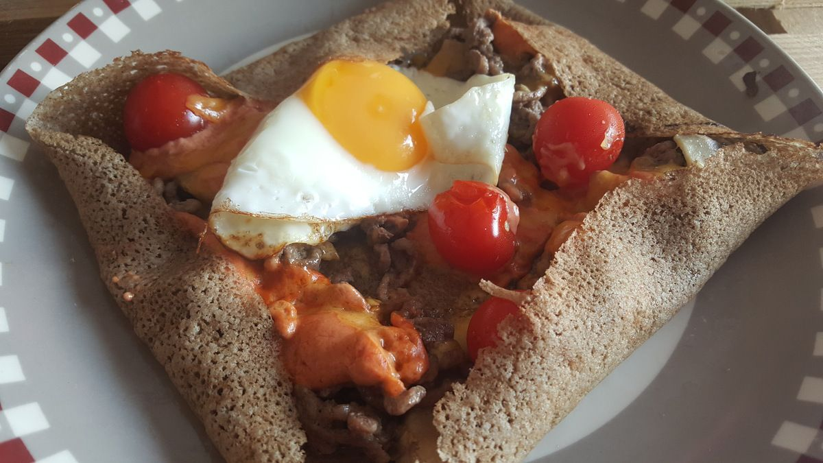 Galette steak hache