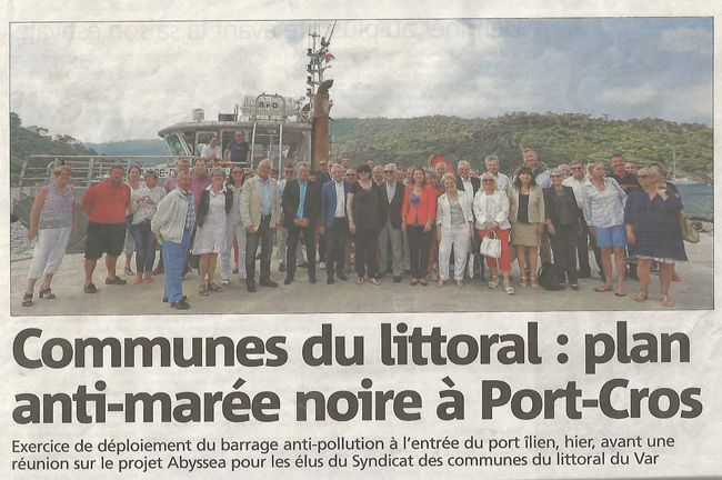 Pollution électoraliste à Port-Cros !