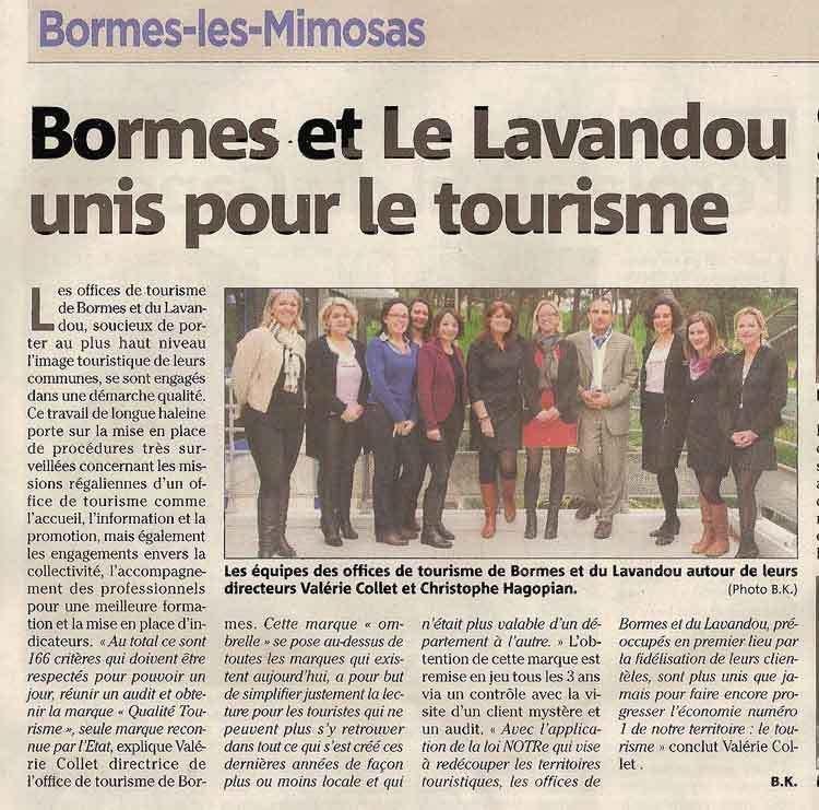 Tourisme : retour à la case départ pour le Lavandou !