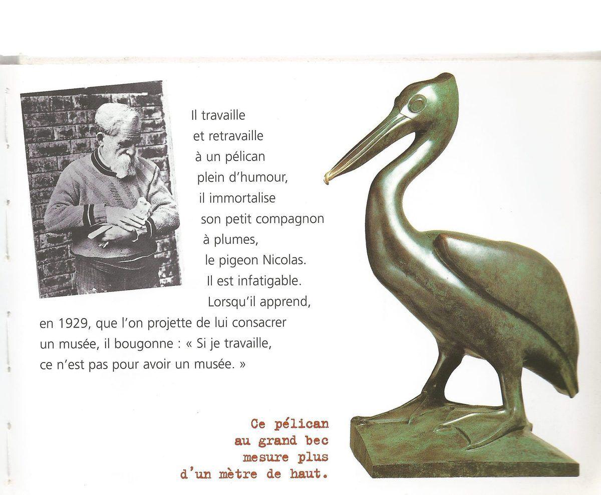 POMPON le grand sculpteur animalier bourguignon !