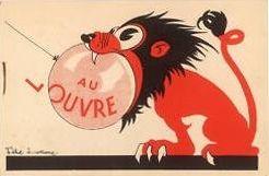 Circa 1930 - Publicité Magasin du Louvre - F. Lorioux -