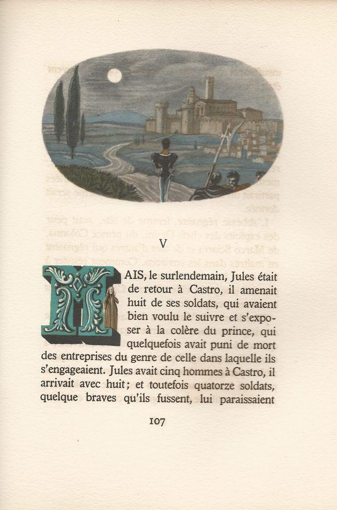 « L'Abbesse de Casto ». Chronique italienne. Illustrations de Lepape !