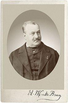Malte Brun 1816 - 1889