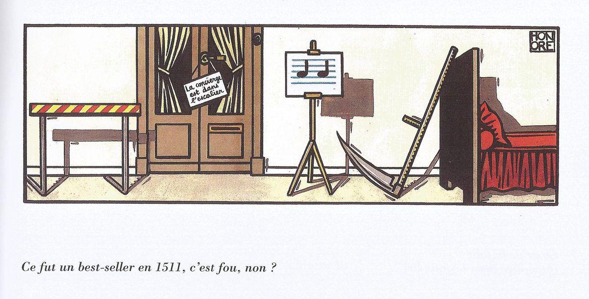 Honoré et ses rébus littéraires !